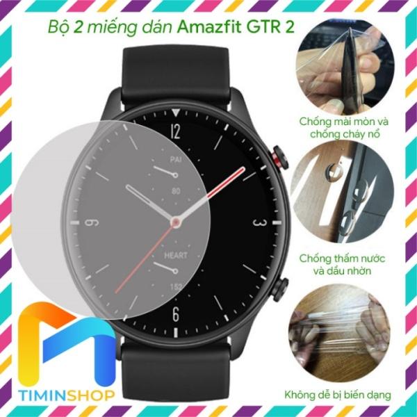 [2 miếng] Dán đồng hồ Amazfit GTR 2/ GTR 2e - chống trầy xước trong suốt