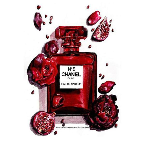 [Chiết 10ml] Nước hoa nữ Chanel No 5 Eau de Parfum Red Edition