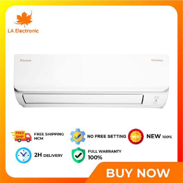 [Trả góp 0%] - Daikin Inverter 2.5 HP FTKA60UAVMV - Free shipping HCM