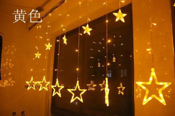 Đèn nháy mành hình ngôi sao( Led Giá Sỉ)