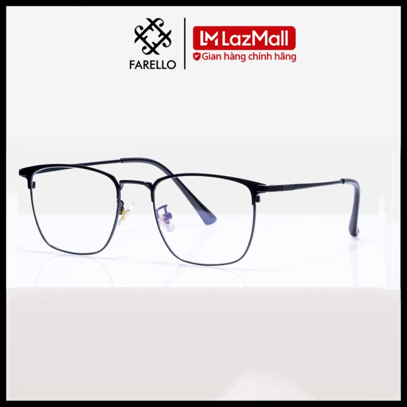 Giá bán Gọng kính cận FARELLO chất liệu kim loại phụ kiện thời trang nam nữ 62026 nhiều màu
