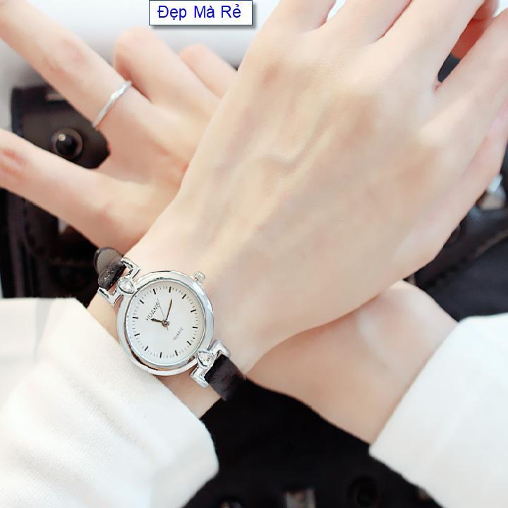 Nơi bán Đồng hồ Nữ Đẹp Mà Rẻ số gạch cổ điển dây cách điệu - DH2019500043055079