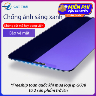 [Miếng dán màn hình] Kính cường lực Cát Thái chống ánh sáng xanh bảo vệ mắt cao cấp dành cho Iphone 6 7 8 X 11 6Plus 7Plus 8Plus XS MAX Iphone 11 Pro Max - GH03 thumbnail