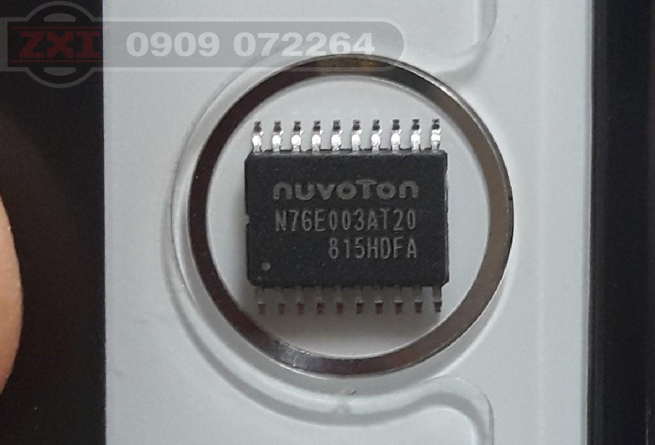 Giá N76E003AT20 gói 10con