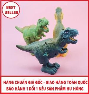 Đồ chơi khủng long biết chạy vặn dây cót cho bé thumbnail