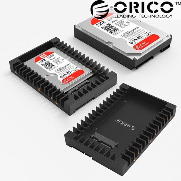 Bảng giá Khay gắn SSD cho máy tính bàn Orico 1125SS chuyển đổi 2.5 inch sang 3.5 inch - MA09 Phong Vũ