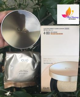 Phấn Nước CLIO Stay Perfect Cover Cushion 15g Refill 15g SPF 50+ PA+++ thumbnail