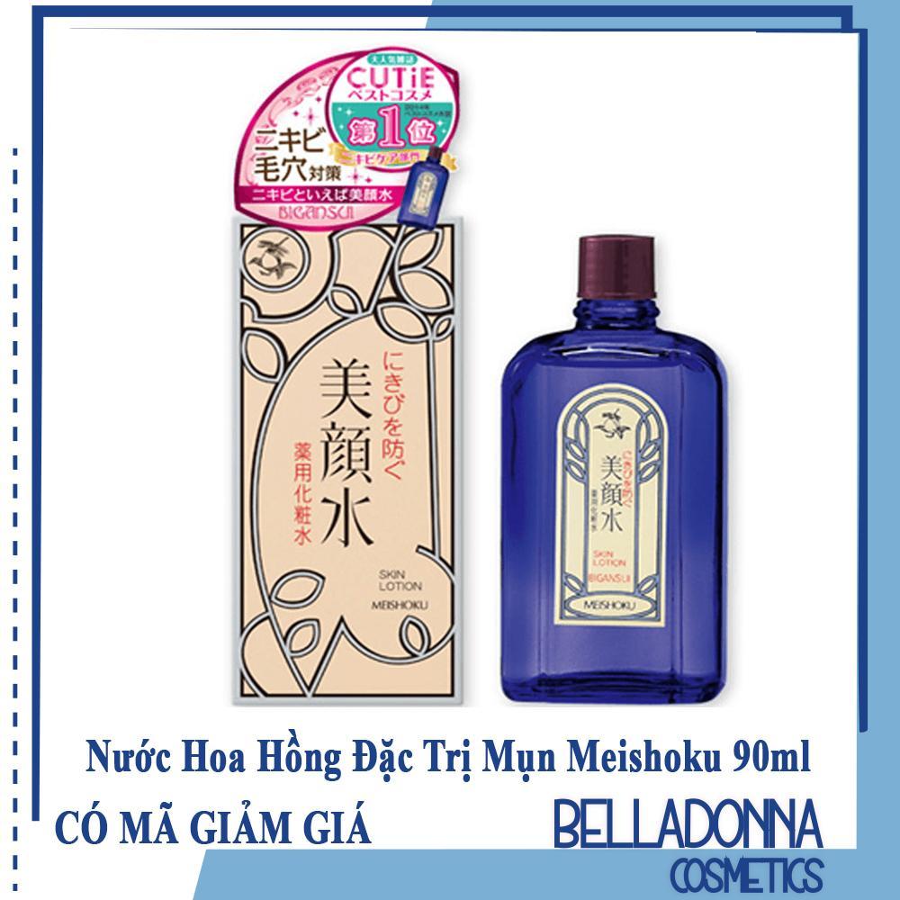 Nước Hoa Hồng Đặc Trị Mụn Meishoku Bigan Medicated Skin Lotion 90ml tốt nhất