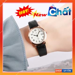 [XỊN] Đồng hồ nữ chính hãng AiLi, đồng hồ nữ dây da bò cao cấp với 3 màu dây, đồng hồ nữ chống nước tốt, mặt kính sapphire chống chầy xước và va đập, chất liệu da bò cực mềm, phong cách thời trang trẻ Hàn Quốc-BH 12 THÁNG thumbnail