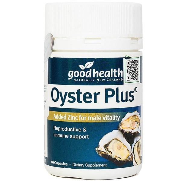 Tinh Chất Hàu Oyster Plus Goodhealth Hộp 60 Viên
