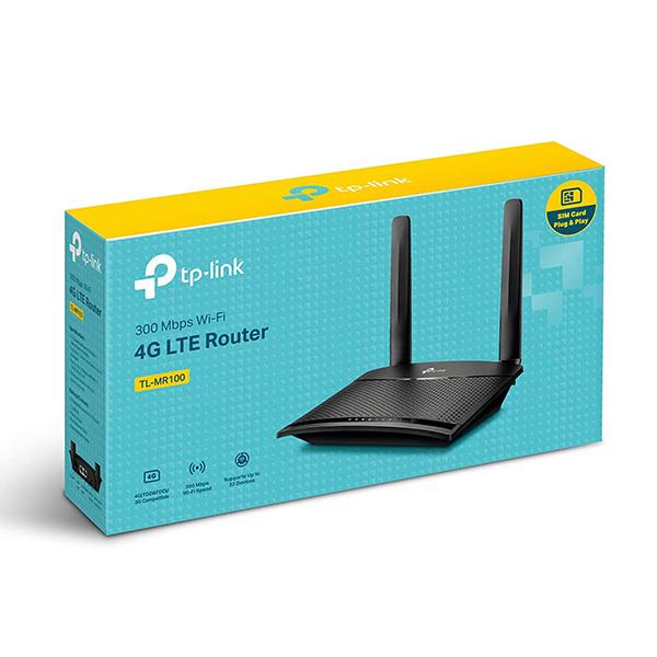 Bảng giá [HCM]Router Wi-Fi không dây 4g Chuẩn N tplink TL-MR100 300Mbps - đa mạng ( wifi HDG ) Phong Vũ