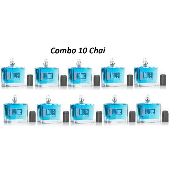 [Combo sỉ] 10 Chai Nước Hoa Nam Blue For Him 50ml