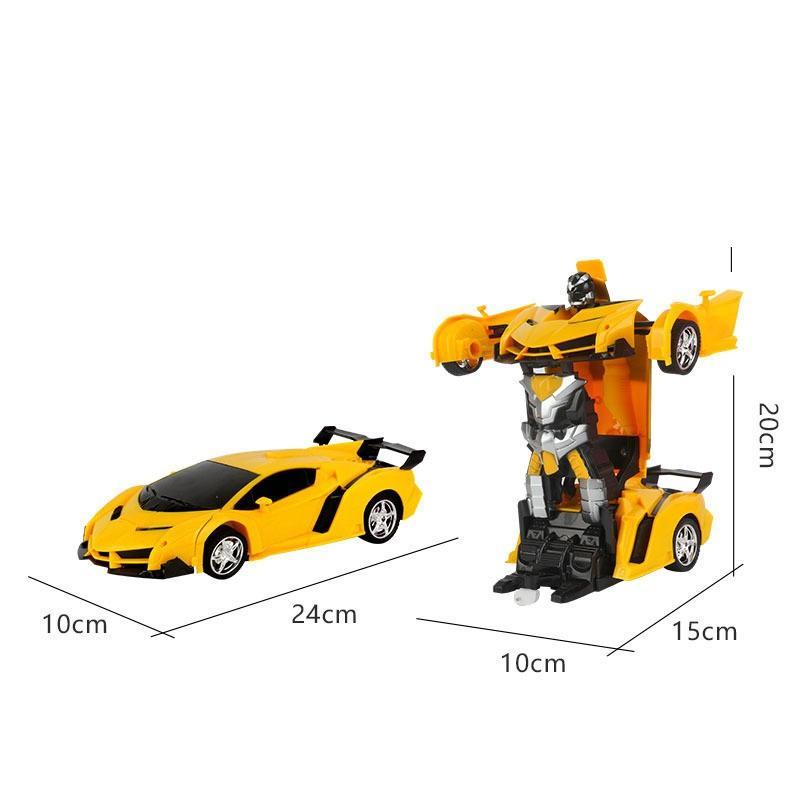 Xe ROBOT Biến Hình điều Khiển Pin SẠC Giảm Cực Hot