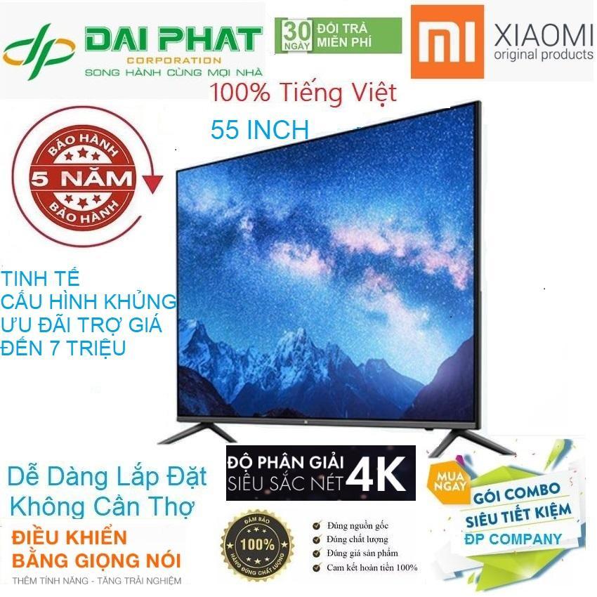 Bảng giá Smart TV Xiaomi 4S 55inch CẤU HÌNH SIÊU KHỦNG, MÀN HÌNH PHẲNG HÌNH ẢNH CHÂN THỰC, ÂM THANH SỐNG ĐỘNG