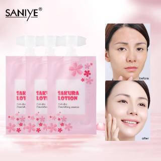 SANIYE Sakura Lotion Dưỡng Ẩm Dài Lỗ Chân Lông Và Tinh Chất Bụi Bẩn R1215 thumbnail