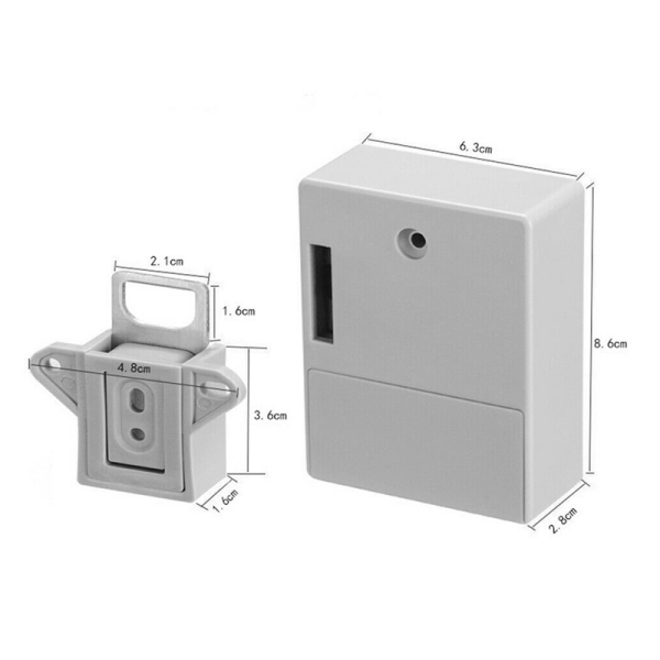 RFID Electronic Cabinet Lock DIY for Wooden Drawer Cabinet, Ready for Use & Programmable