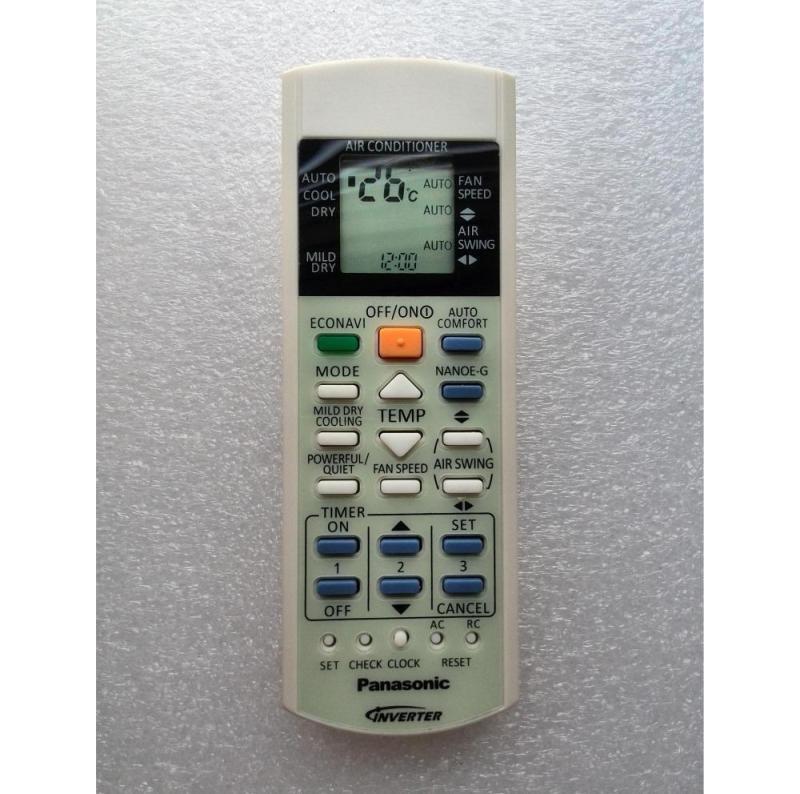Bảng giá Điều khiển điều hòa Pana Inverter 2 chiều