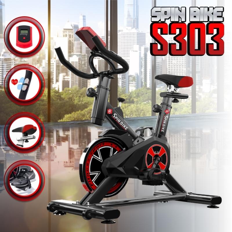 GYM - Xe đạp thể thao Spining bike HOT năm 2019 Mẫu S-303