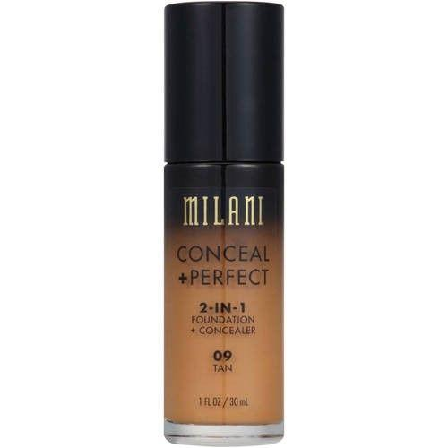 Kem Nền Milani CONCEAL + PERFECT 2 In 1 Foundation + Concealer (Full Size 30ml) tốt nhất