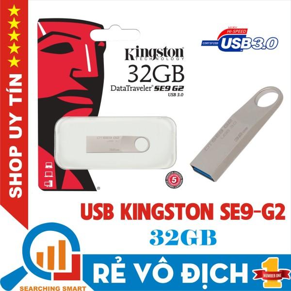 Giá USB 3.0 Kingston SE9 G2 32GB - Data Traveler - Vỏ Kim Loại -  Bảo hành 5 năm