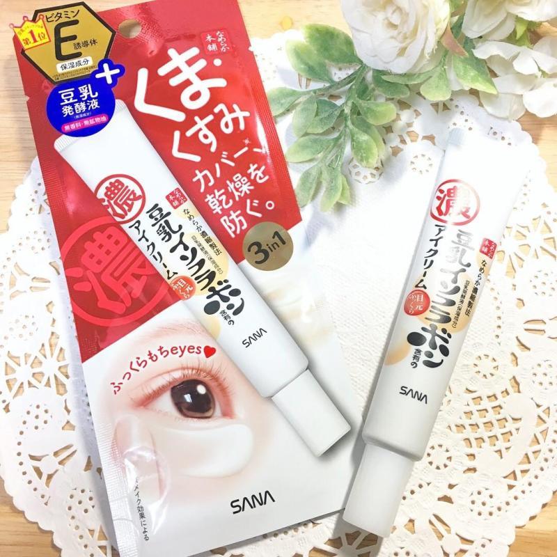 [CHÍNH HÃNG] Kem Dưỡng Mắt Sana Nameraka Smooth Honpo Eye Yuan Plump Eye Cream (20g) - MIYAMI