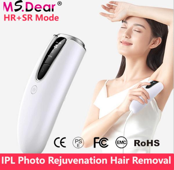 300.000 lần nhấp nháy Máy trẻ hóa IPL Tẩy lông bằng Laser chuyên nghiệp Tẩy lông mặt vĩnh viễn Máy cạo lông vĩnh viễn cho phụ nữ cho khuôn mặt Môi vùng nách Bikini toàn bộ cơ thể