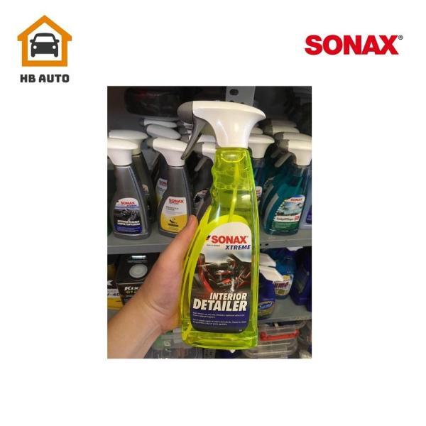 [HCM]Chai dung dịch vệ sinh nội thất ôtô Sonax Xtreme Interior Detailer 750ml -220400
