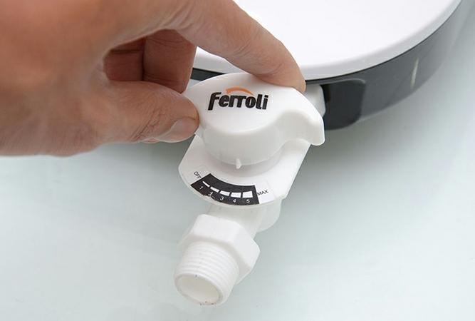 Bảng giá Van khoá máy nước nóng trực tiếp ferroli