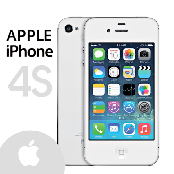 Điện thoại iphone 4s 16/8gb chính hãng - tặng kèm cáp sạc, hỗ trợ tải app , bảo hành toàn quốc