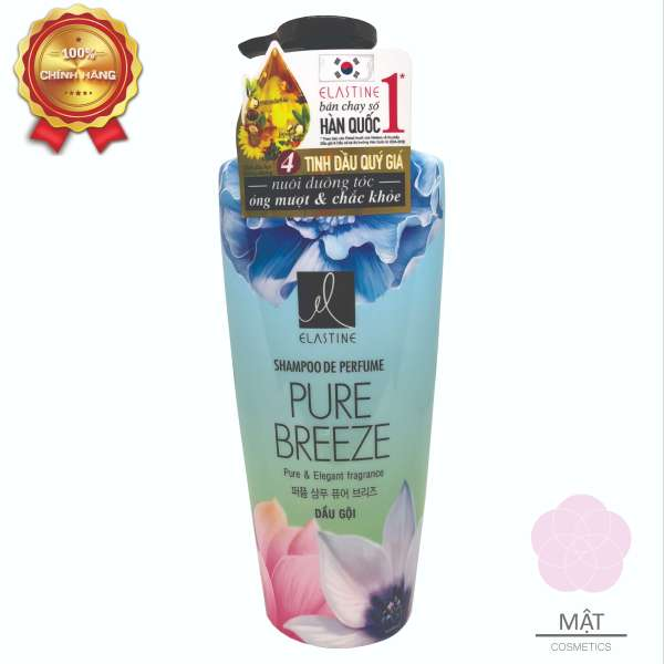 Dầu gội nước hoa Elastine Pure Breeze 600ml