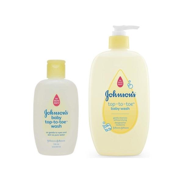 HỘP Sữa tắm gội toàn thân Johnson Baby 100ml