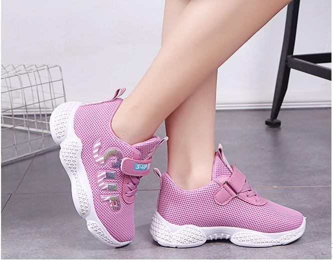 giây thể thao sneaker bé gái 5->15 tuổi_TS06
