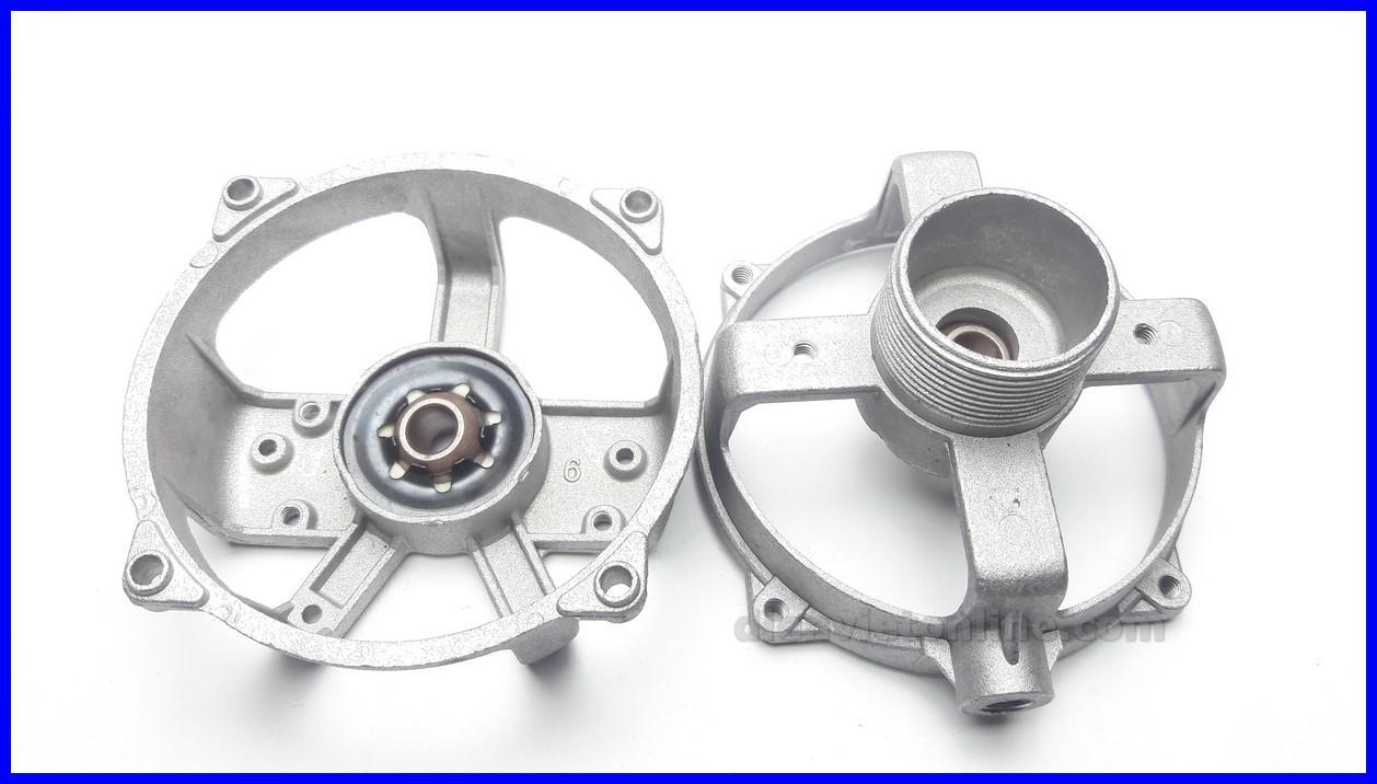 Bộ nắp nhôm quạt, khung đầu quạt cao cấp ( nắp trước + nắp sau ) - Shop uy tín và chất lượng
