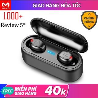 Tai nghe bluetooth khong day 5.0 Amoi F9 pin trâu sạc nhanh, chống nước, với chất âm thanh HiFi TWS True wireless Hifi siêu Bass, micro HD chống ồn tương thích với các dòng điện thoại smartphone thumbnail