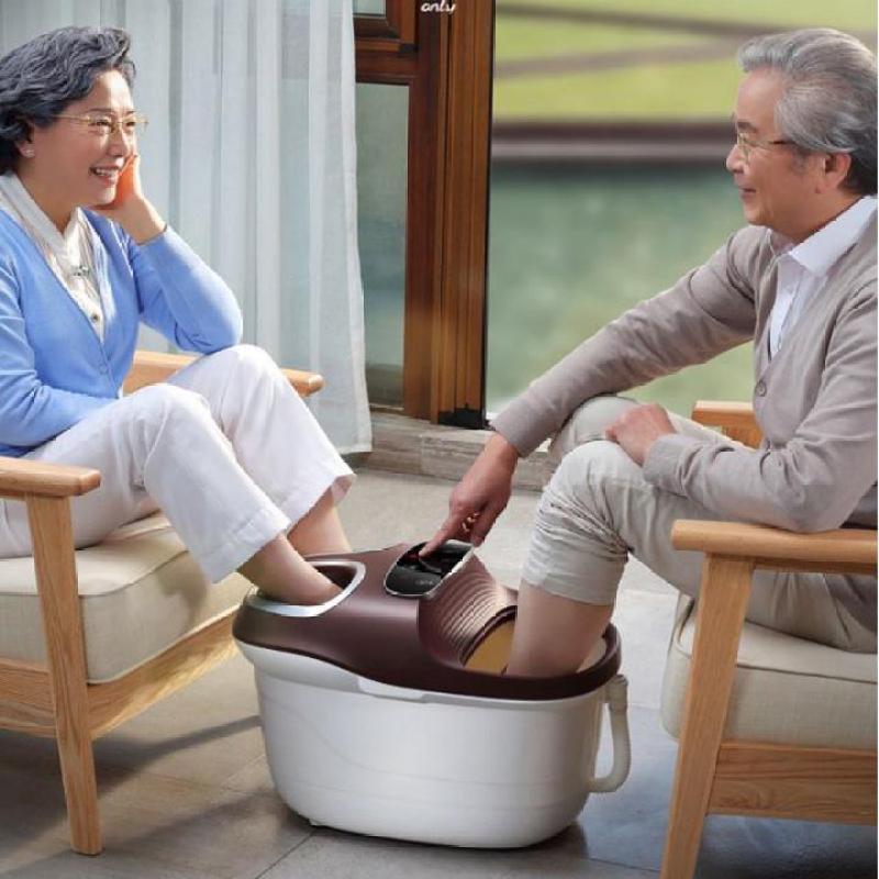 Bồn ngâm chân massage cao cấp-Có chế độ sưởi-Điều chỉnh nhiệt độ,hẹn giờ-Sử dụng cùng lúc 2 người cao cấp