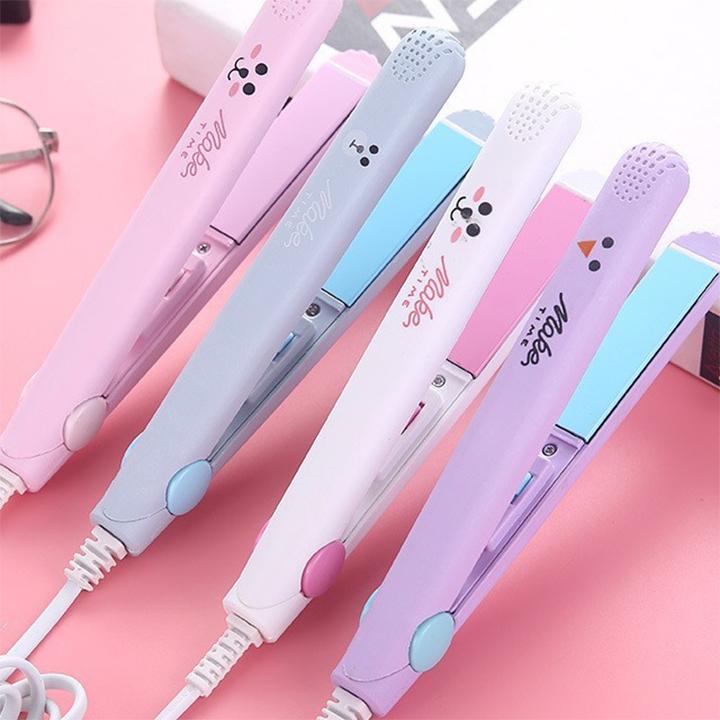 [HCM]Máy duỗi tóc uốn tóc là tóc ép tóc kẹp tóc mini cầm tay tiện lợi máy chăm sóc tóc tạo kiểu tóc nhỏ gọn dễ sử dụng