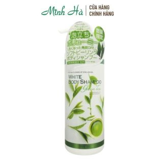Sữa tắm Manis White Body Shampoo Green Tea 450ml chiết xuất từ lá trà xanh thumbnail