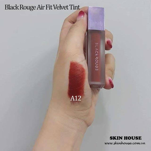 Son Kem Lì Black Rouge Air Fit Velvet Tint A12 tốt nhất