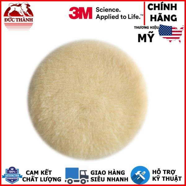 Bánh lông cừu 3M Buffing Pad 85079 5 inch (trắng)