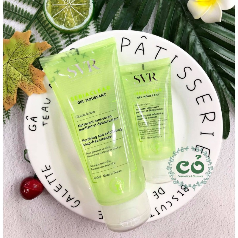 Sữa rửa mặt svr sebiaclear gel moussant cam kết sản phẩm đúng mô tả chất lượng đảm bảo an toàn đến sức khỏe người sử dụng