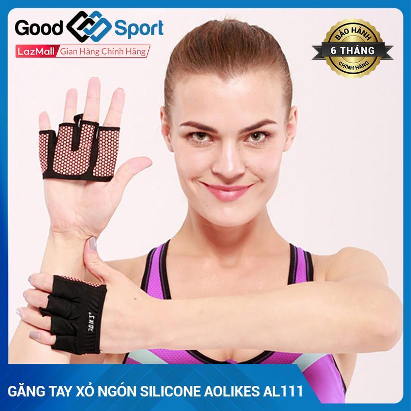 Găng Tay Nữ Tập Gym Nửa Bàn Aolikes AL111 Giá Tốt Không Nên Bỏ Qua