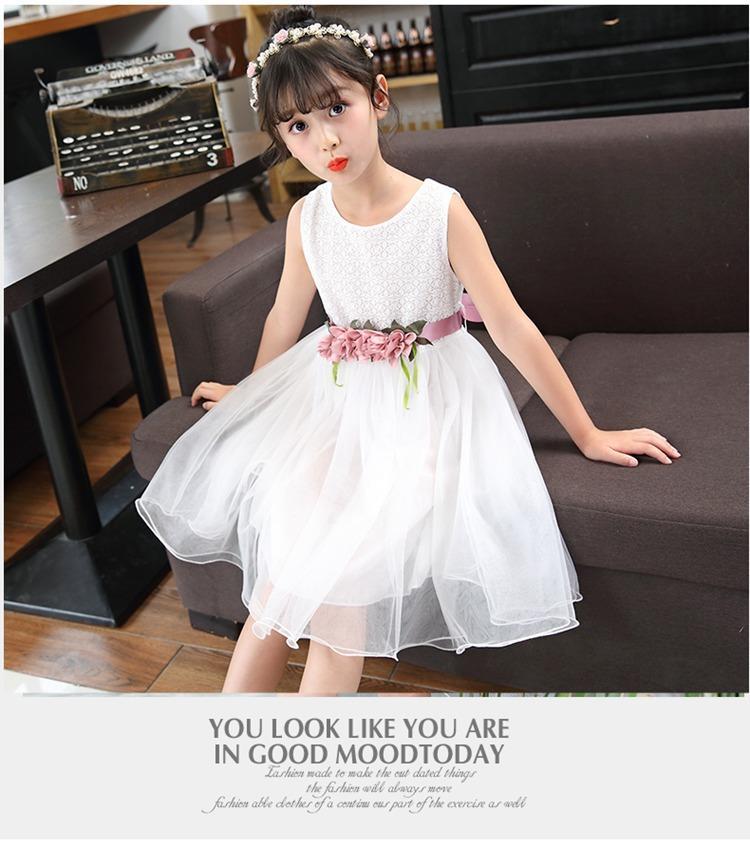 Giá bán Váy đầm ren công chúa xinh xắn cho bé đi chơi, dự tiệc V10 (từ 14-36Kg) - BAO CHẤT ĐẸP
