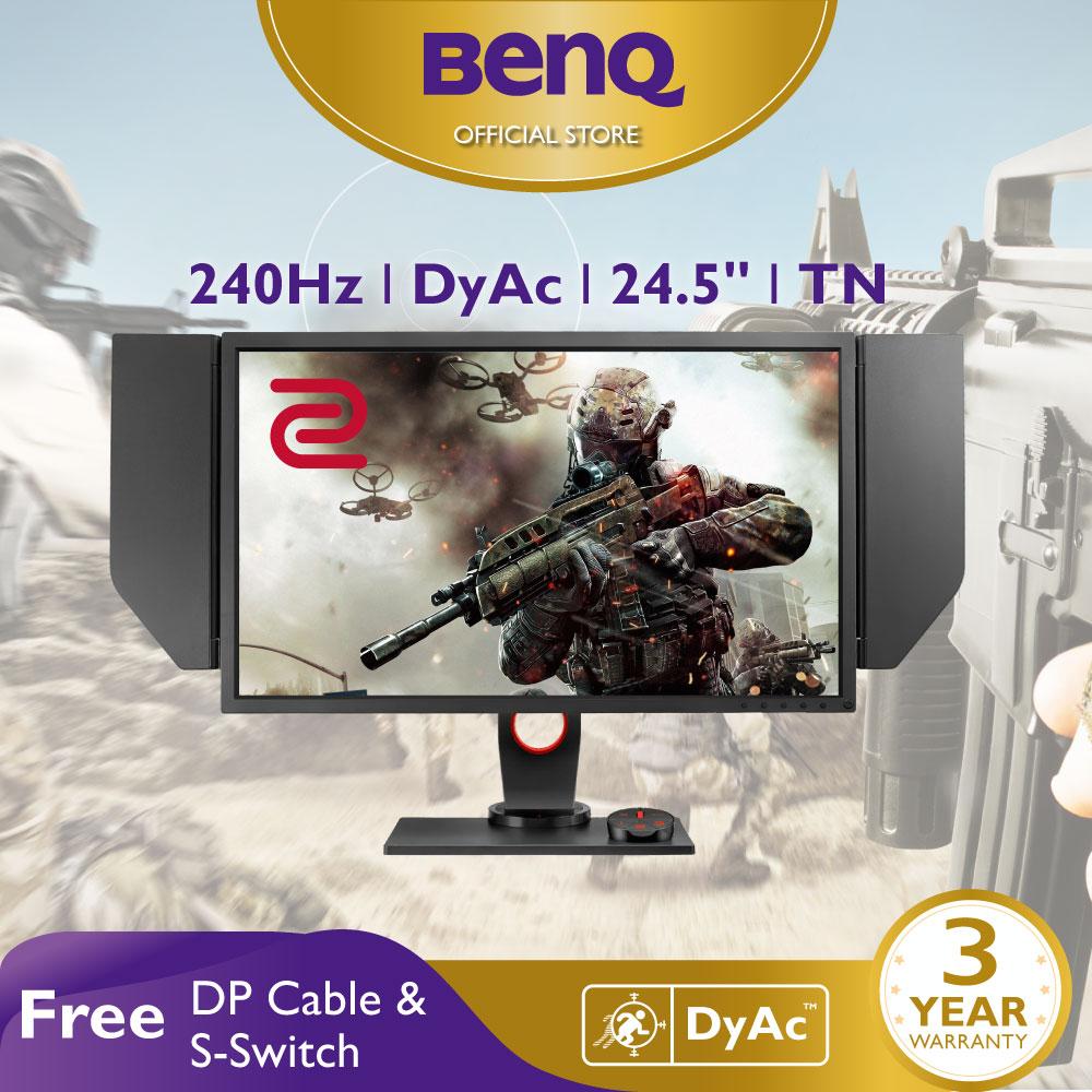 Màn hình máy tính BenQ ZOWIE XL2546 240Hz 24.5 inch DyAc™ eSports Gaming FPS (CSGO, PUBG, ...)