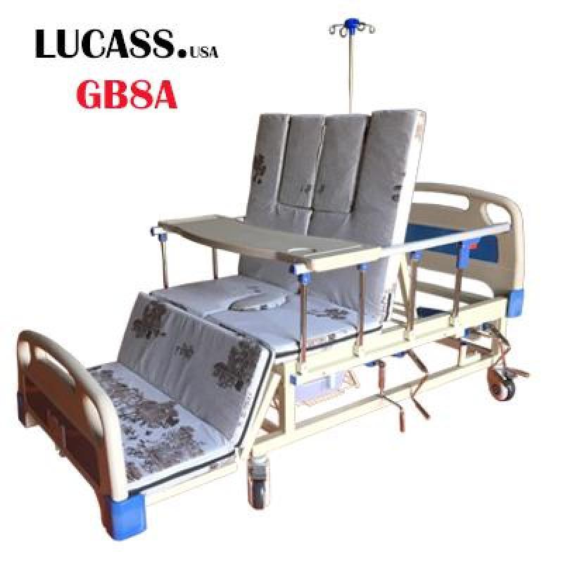 Giường bệnh nhân 4 tay quay Lucass GB8A