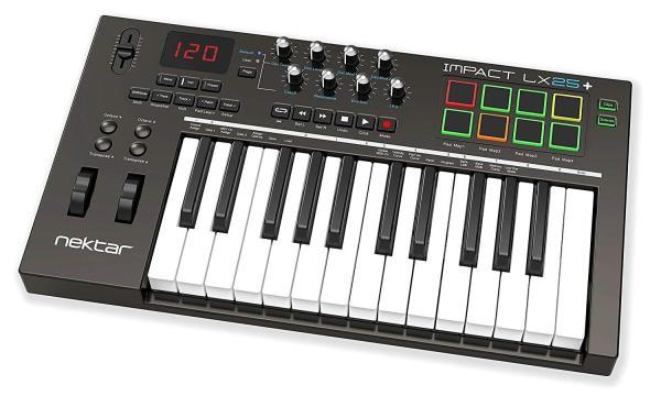 Keyboard Controller MIDI Nektar Impact LX25+