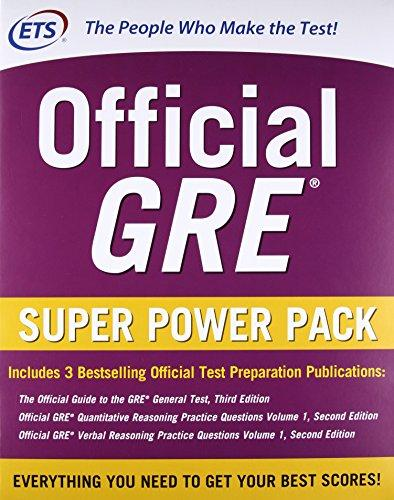 Mua Combo: Official GRE Super Power Pack, Second Edition