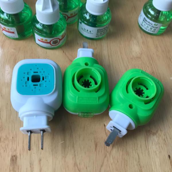 Combo 3 tinh dầu đuổi muỗi 45ml Electric Mosquito Liquid và đầu cắm xông tinh dầu đuổi muỗi