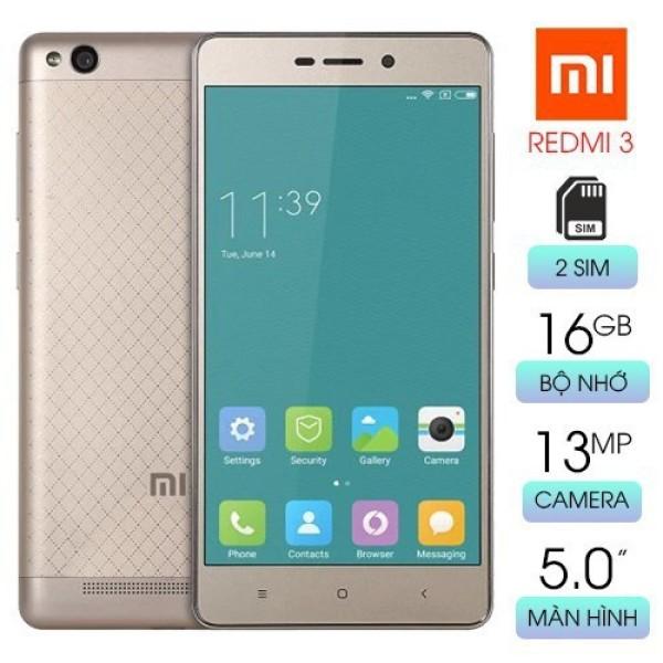 [Mua lẻ giá sỉ] Xiaomi Redmi 3 2sim ram 2G/16G mới - Có Tiếng Việt - Chơi LIÊN QUÂN/PUBG Mượt - Bảo Hành 1 Đổi 1
