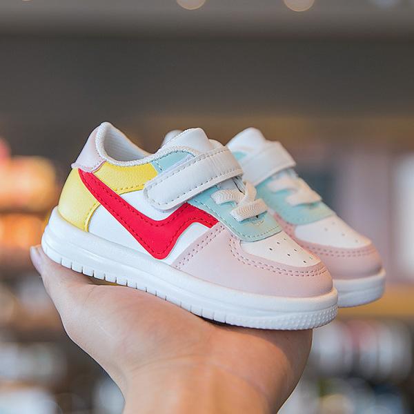 Giá bán Giày bé trai bé gái dáng thể thao phong cách Hàn Quốc cho từ 0-3 tuổi siêu nhẹ chống trơn trượt