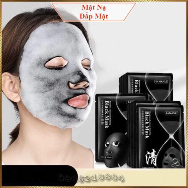 Mặt nạ sủi bọt thải độc detox da Samanli Black Mask SBM1